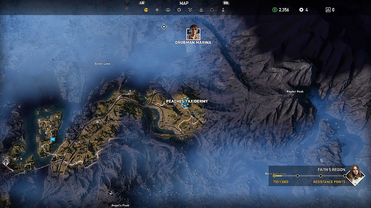 Far Cry 5 Fangs For Hire Locations Getting Boomer Cheeseburger