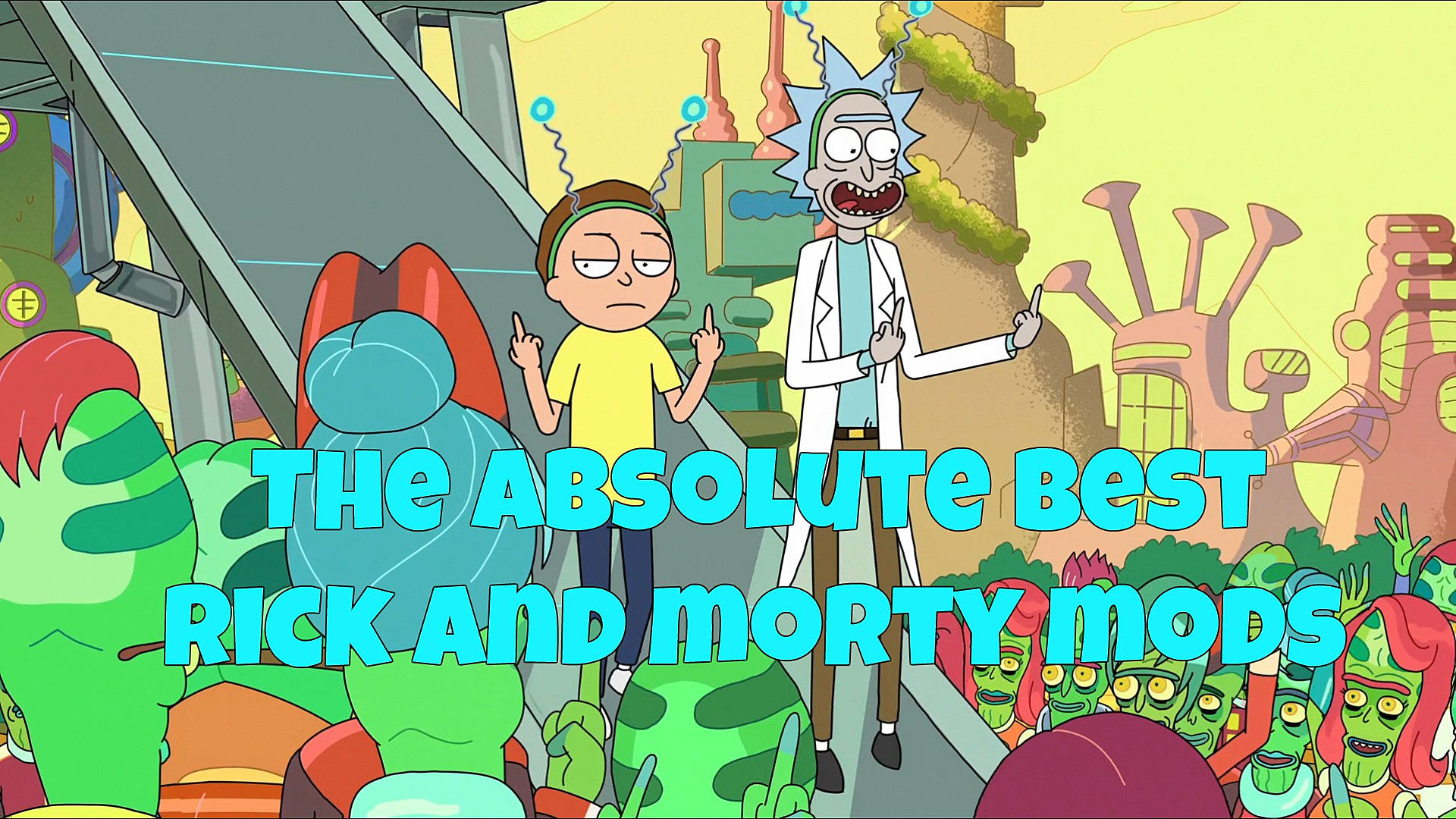 The Best Rick and Morty Mods For All Your Favorite Games