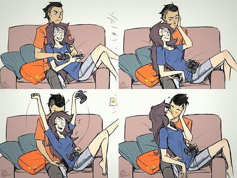 dating en gamer chick
