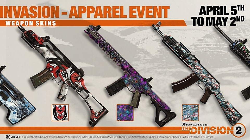 How to Get All Apparel Items in The Division 2's Apparel Event #1