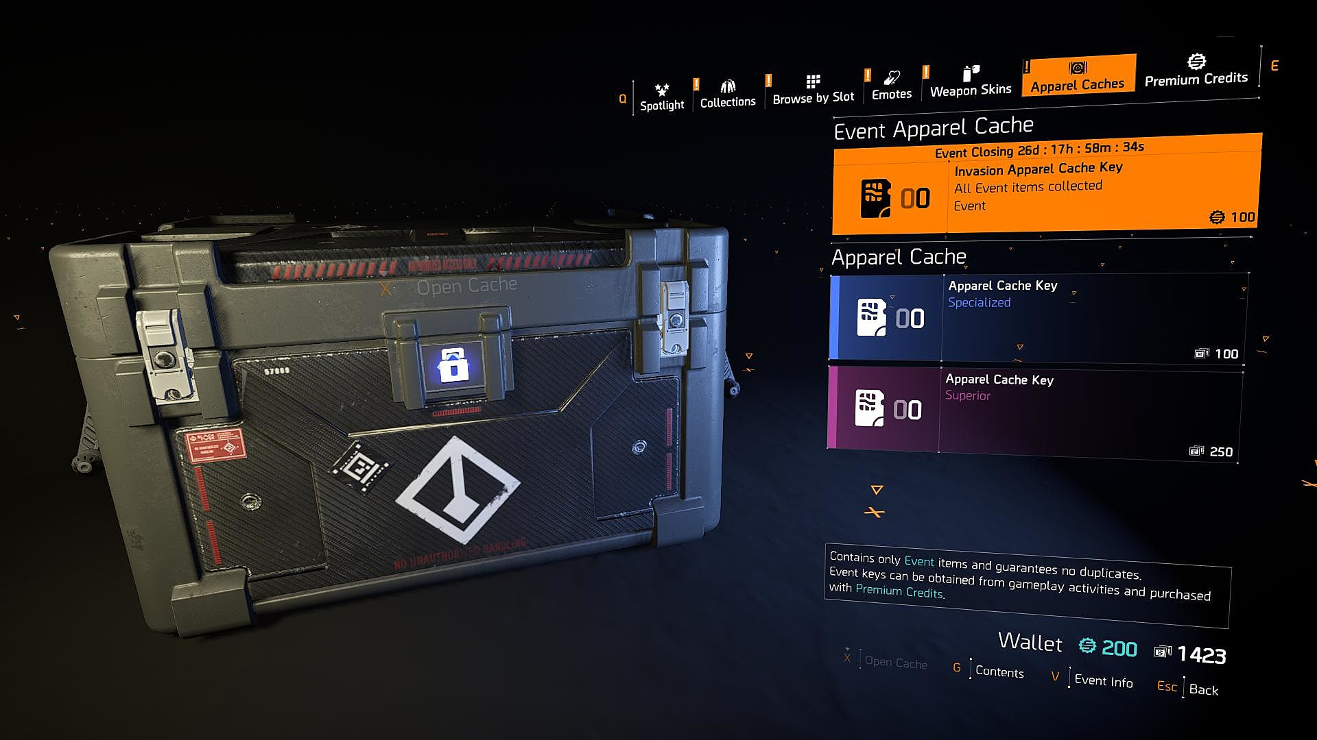 How to Get All Apparel Items in The Division 2's Apparel