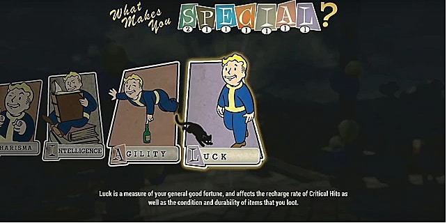 fallout 76 luck of the draw