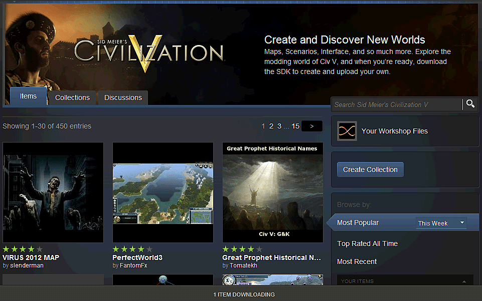 How to download mods in steam