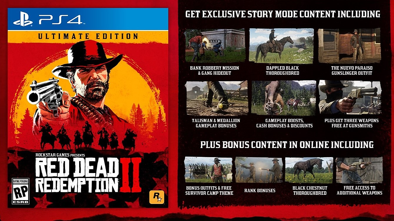 Red Dead Redemption 2 Pre-Order Guide | Red Dead Redemption 2