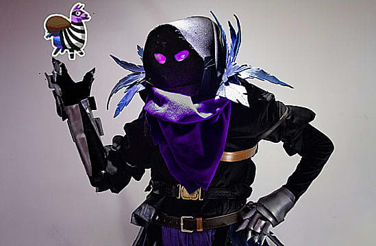 best fortnite cosplay of 2018 - how to make raven costume fortnite