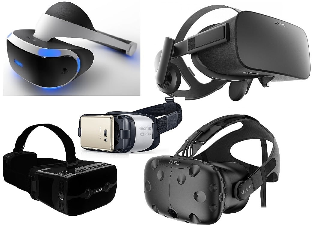 Vr Headset Comparison >> The Top Vr Headset Oculus Rift Htc Vive Playstation Vr