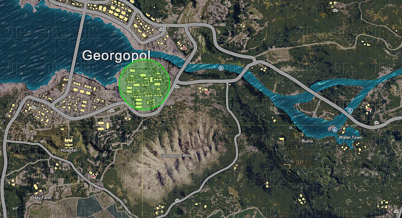 pubg xbox map tips