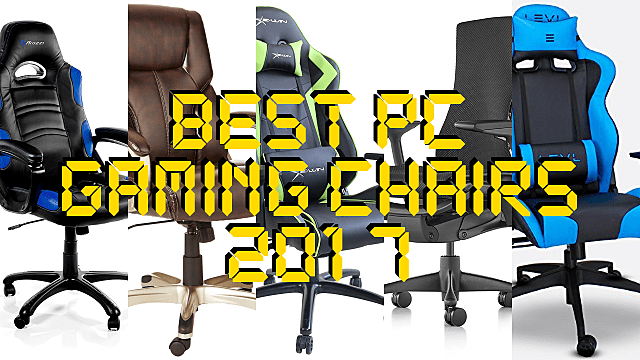 Stupendous The 10 Best Gaming Chairs For Pc Gamers In 2017 Machost Co Dining Chair Design Ideas Machostcouk