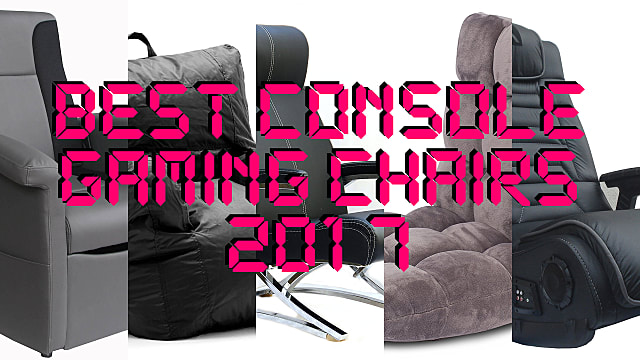 Stupendous The 10 Best Gaming Chairs For Console Gamers In 2017 Theyellowbook Wood Chair Design Ideas Theyellowbookinfo