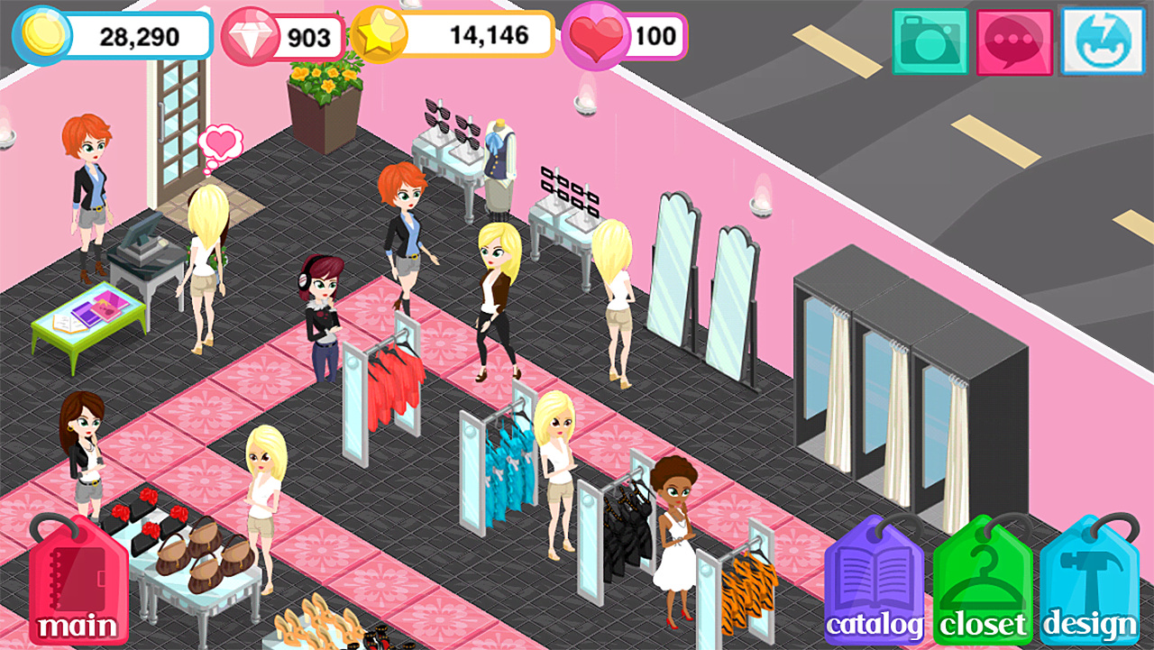 11 Chic Mobile Games For Every Fashionista