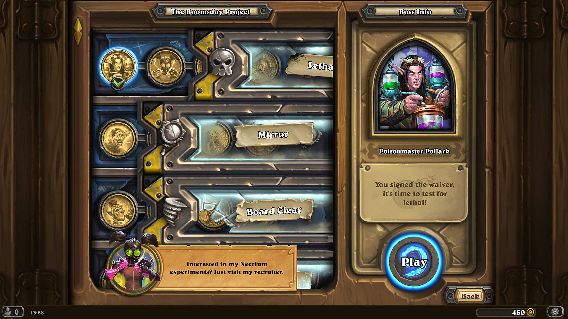 Hearthstone Guide: All Puzzle Lab Solutions | Hearthstone