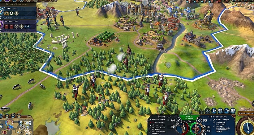 Civilization 6: Rise And Fall Guide to Scotland the Brave