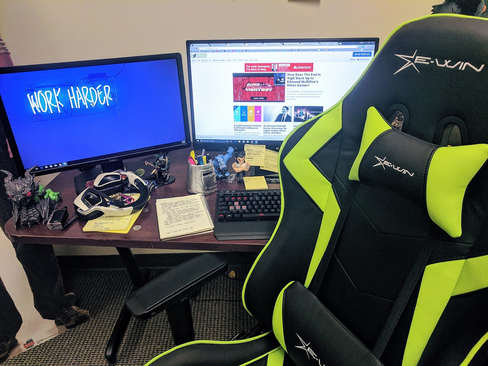 EWin Champion Series Gaming Chair Review Sturdy fy and Sleek