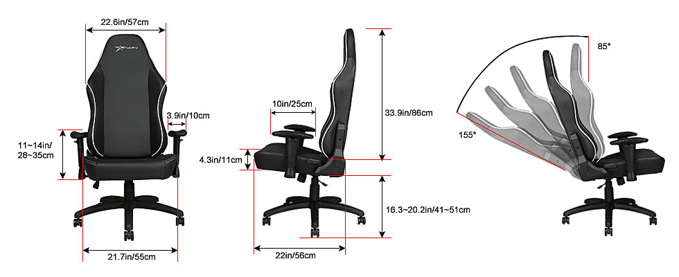 Ewin Knight Series Gaming Chair Review: Not a Valiant Steed