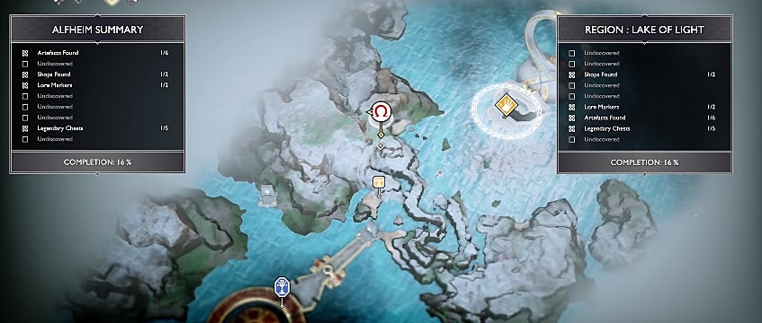 God Of War 2018 Guide Every Secret Valkyrie Location