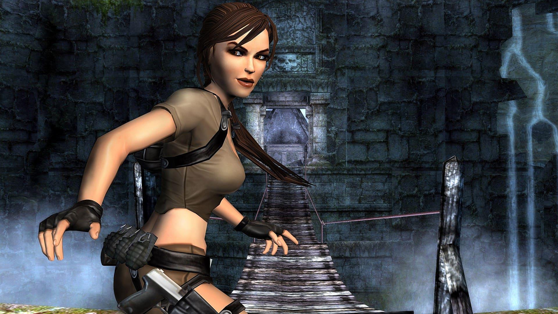 Lara Croft Spiel