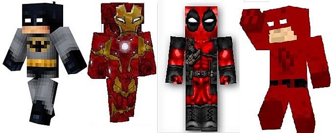 Minecraft Skins: 2016 Superhero Edition | Minecraft