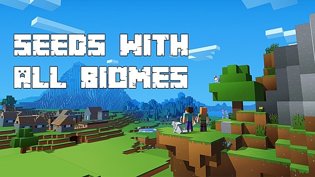 Top 8 Minecraft Seeds With All Biomes In Close Proximity Minecraft