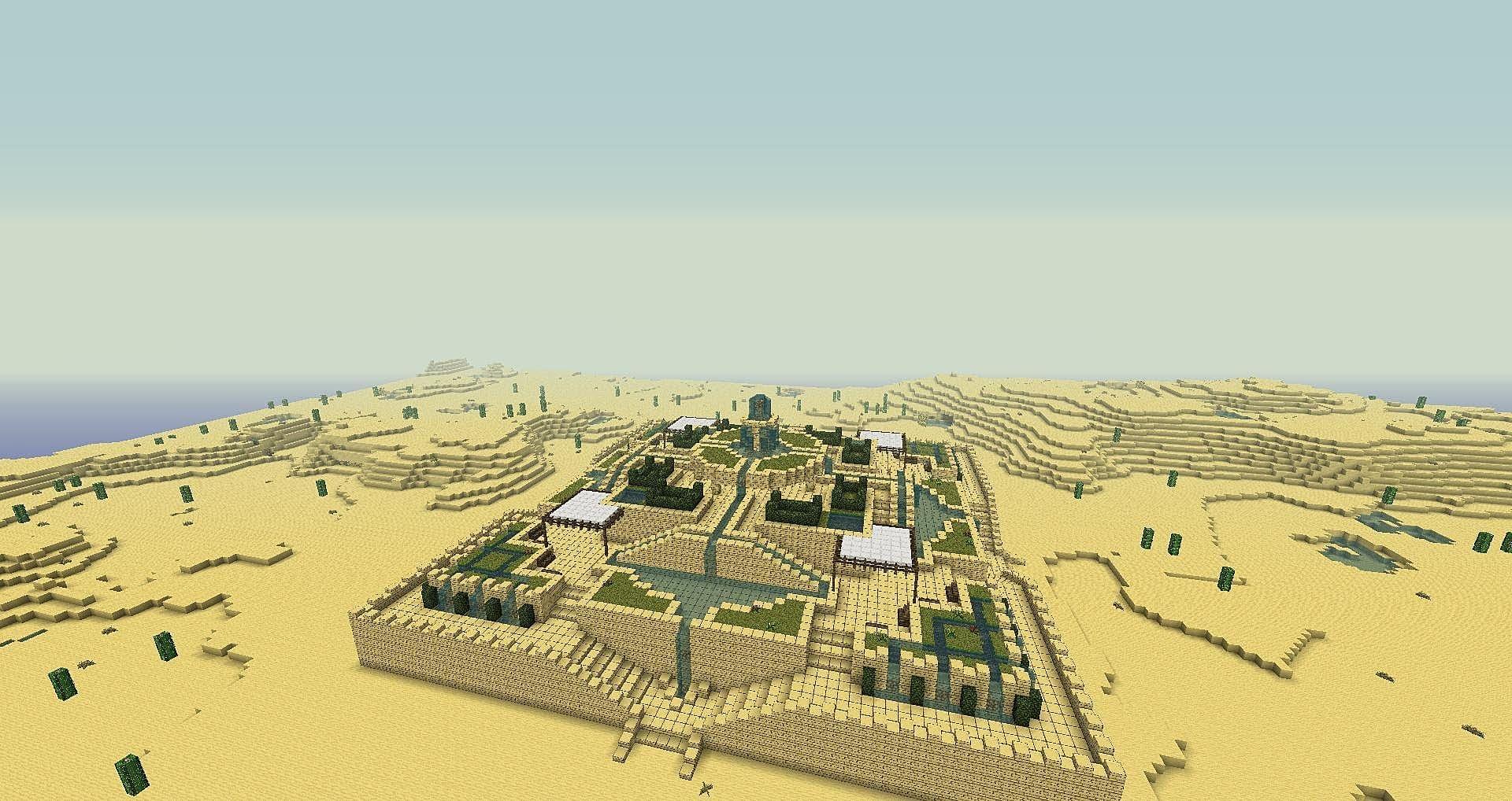 Best Minecraft 112 Desert Seeds Minecraft