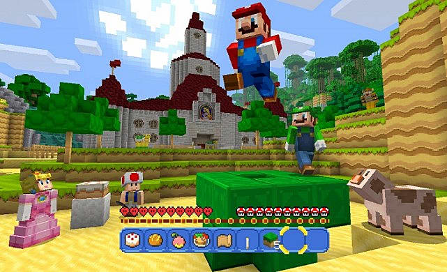 Minecraft For The Nintendo Switch How Is It Different From - Minecraft spiele fur nintendo