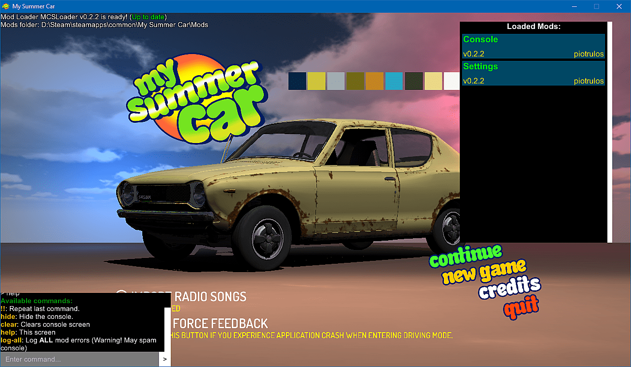 The Seven Hottest Mods for My Summer Car | Slide 2 | My Summer Car