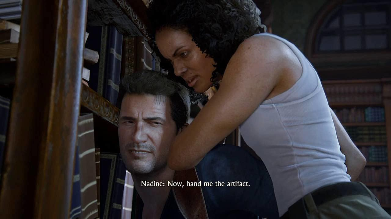 No Nathan Drake In Uncharted The Lost Legacy