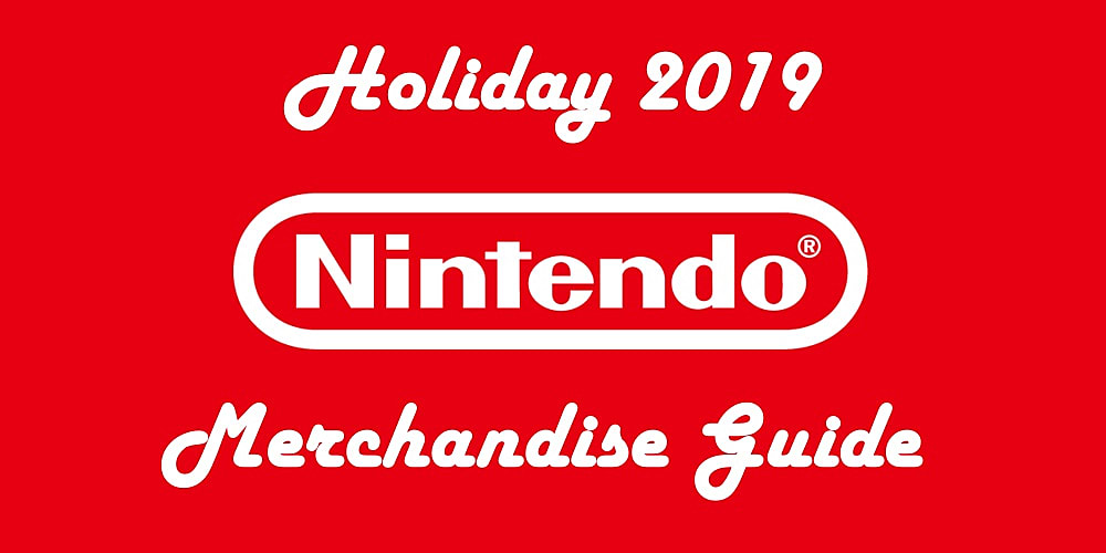 Nintendo Merchandise Gift Guide  16 Gift Ideas For Your