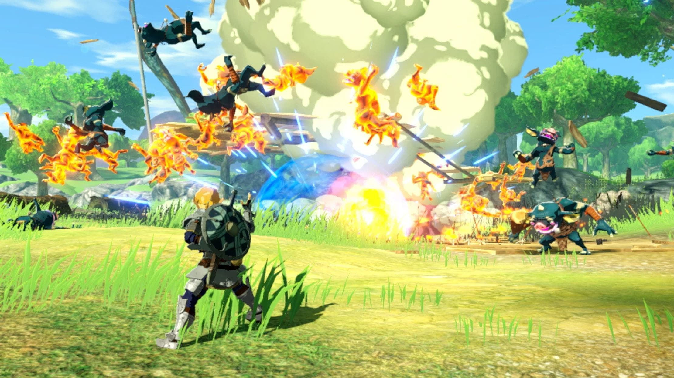 Hyrule Warriors Age Of Calamity Apple Guide How To Get More Apples Hyrule Warriors Age Of Calamity