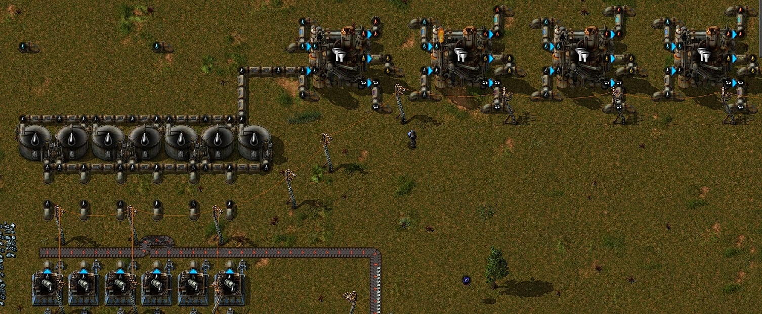 The Complete Guide to Oil Processing in Factorio | Factorio