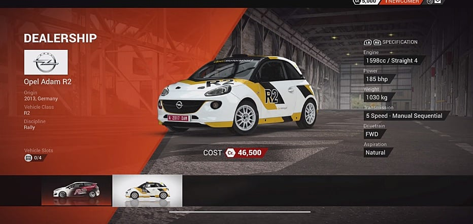 dirt 4 complete launch day car list dirt 4. Black Bedroom Furniture Sets. Home Design Ideas