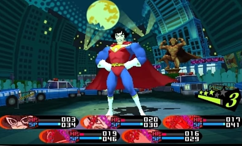 How to Beat Super Kamoshidaman in Persona Q2   Persona Q2