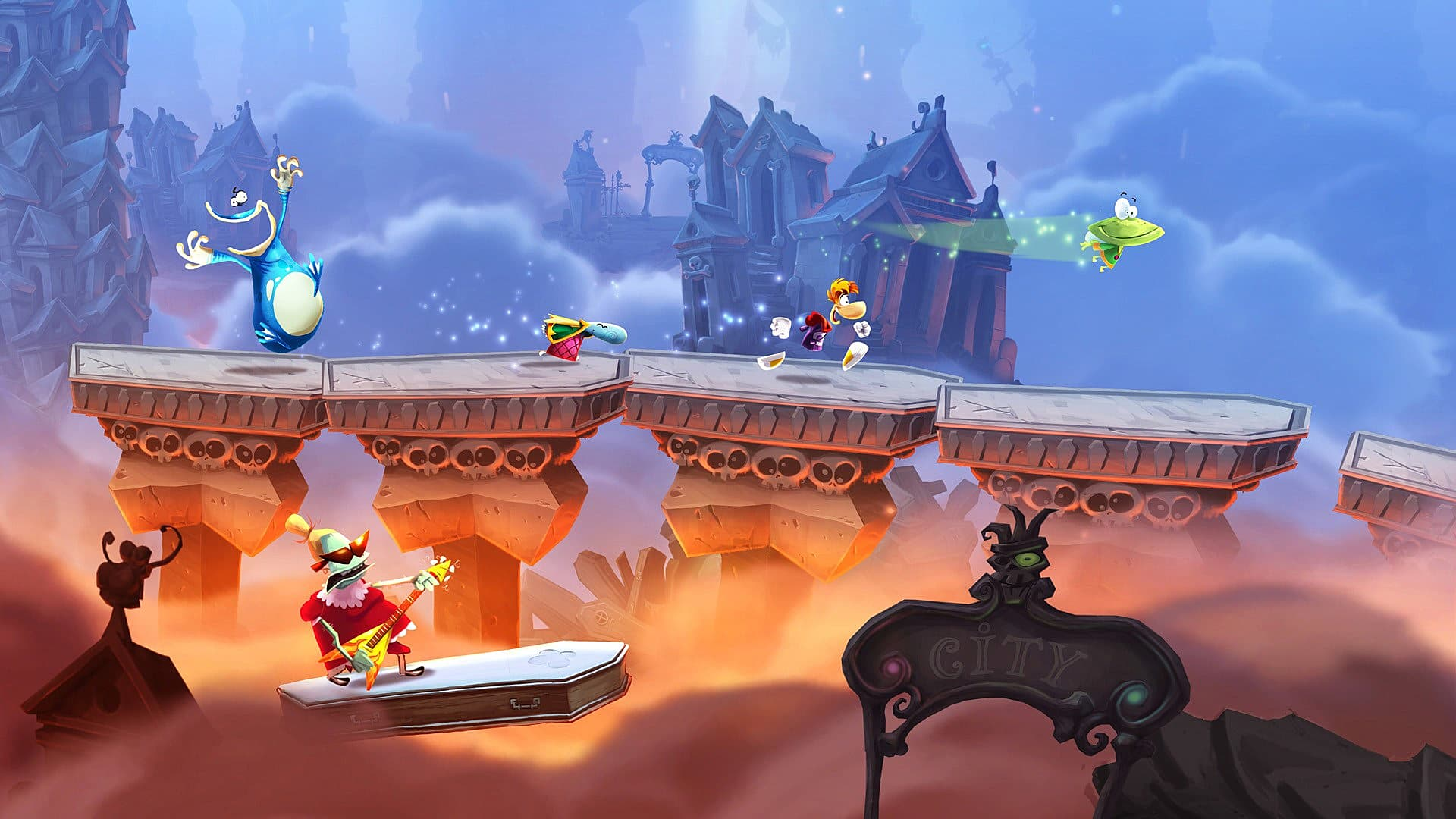 8 family friendly co op games on the ps4 rayman legends ps4 b7d87g freerunsca Images