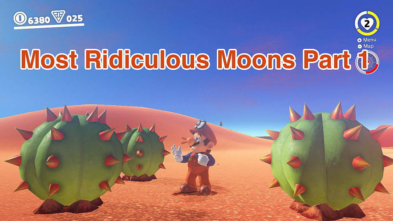 The Most Ridiculous Moons In Super Mario Odyssey Part 1