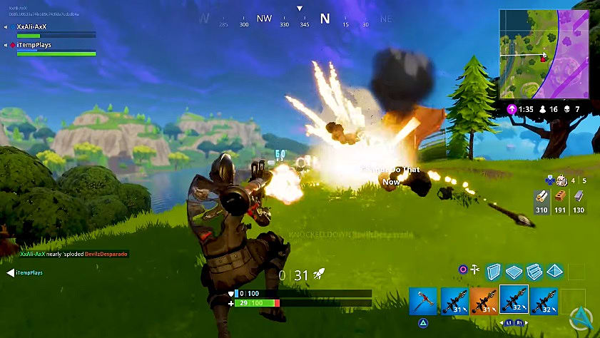 Fortnite High Explosives Limited Time Mode Returns Fortnite