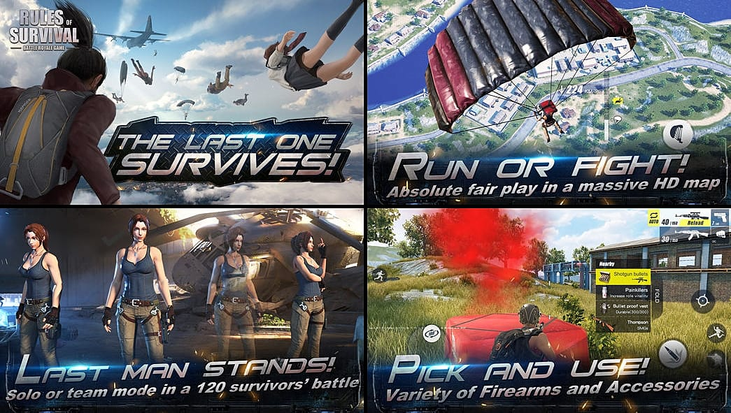 rules of survival android apk
