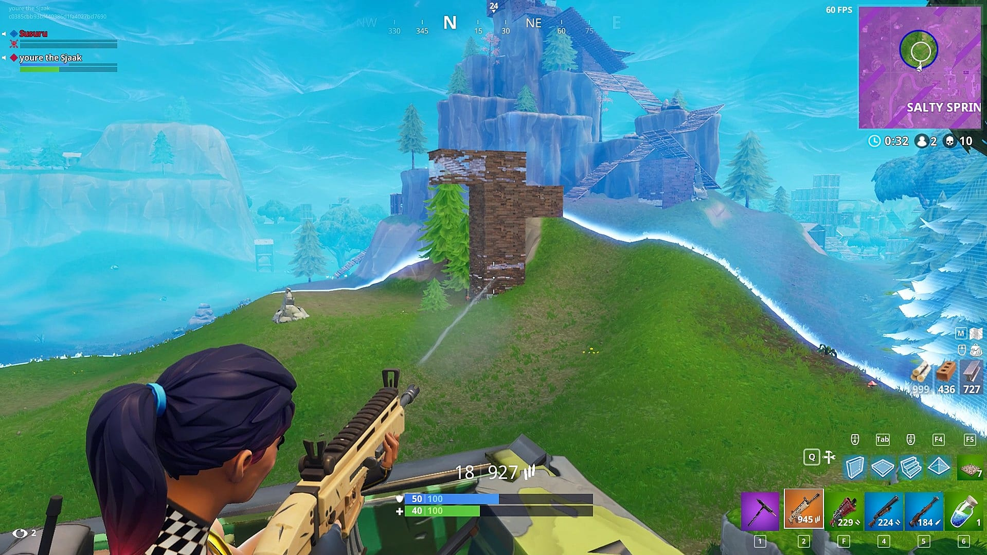 the scar is definitely the superior weapon when it comes to destroying structures its higher fire rate and equivalent structure damage make it way more - fortnite damage headshot