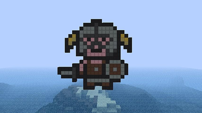 Image result for skyrim minecraft
