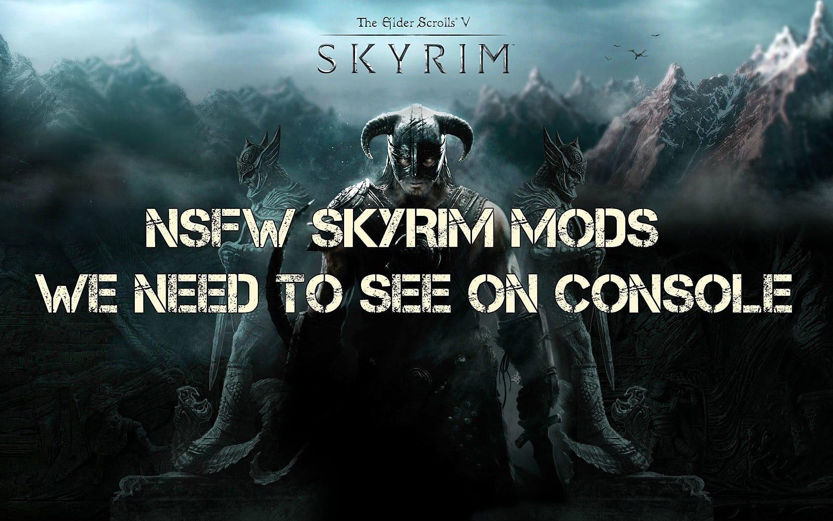 skyrim xbox one x mods