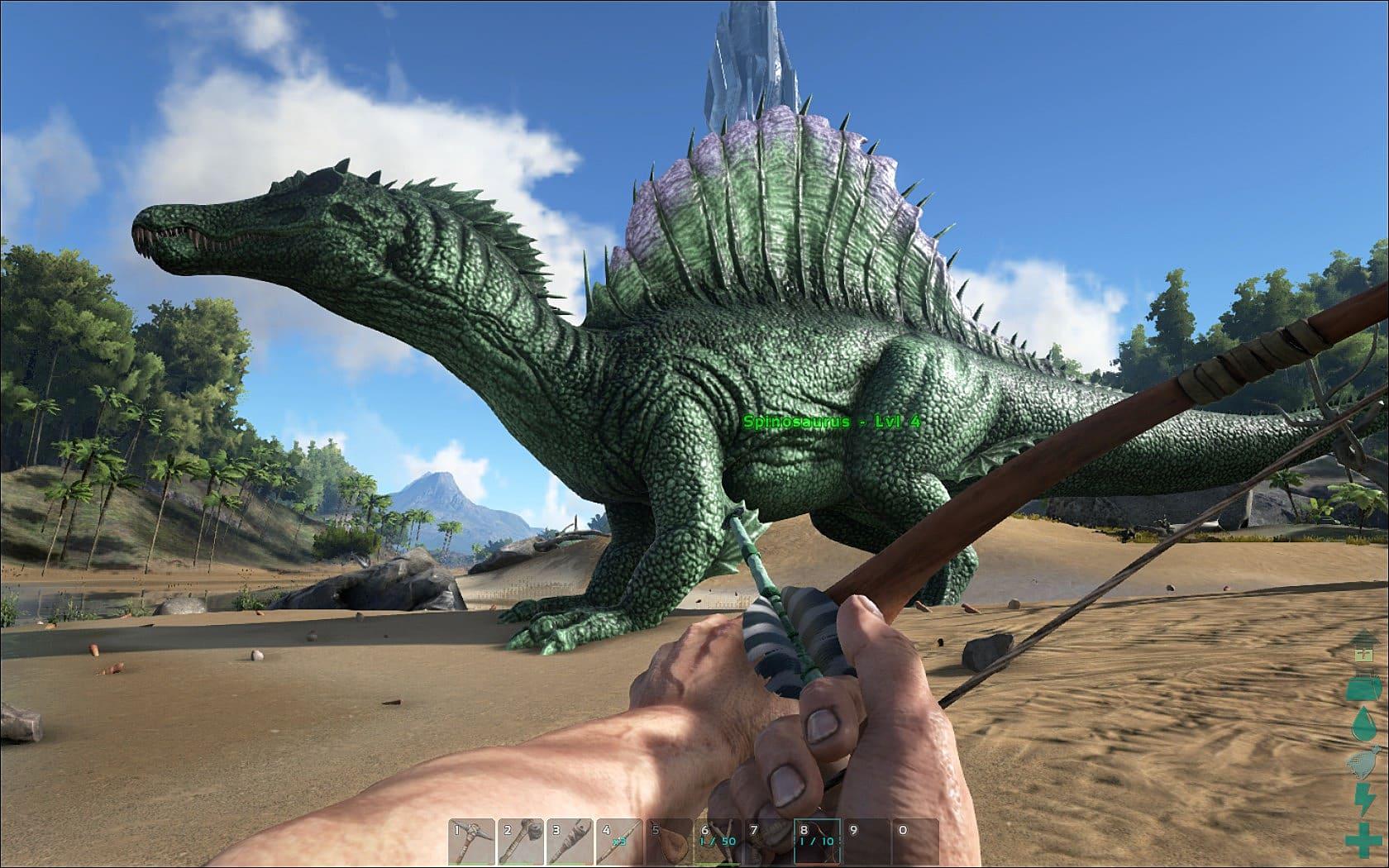 8 Most Terrifying Dinosaurs in Ark: Survival Evolved | ARK