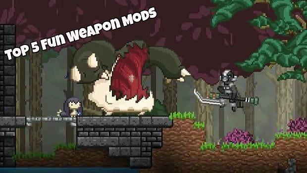 Top 5 Starbound Weapon Mods | Starbound