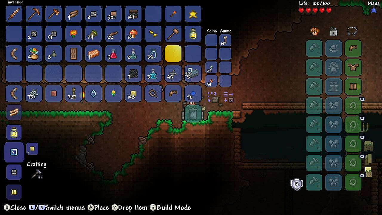 Terraria Switch Review: Building a Promising Path | Terraria