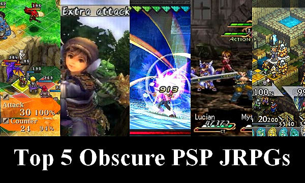 Top 5 obscure PSP JRPGS you never played