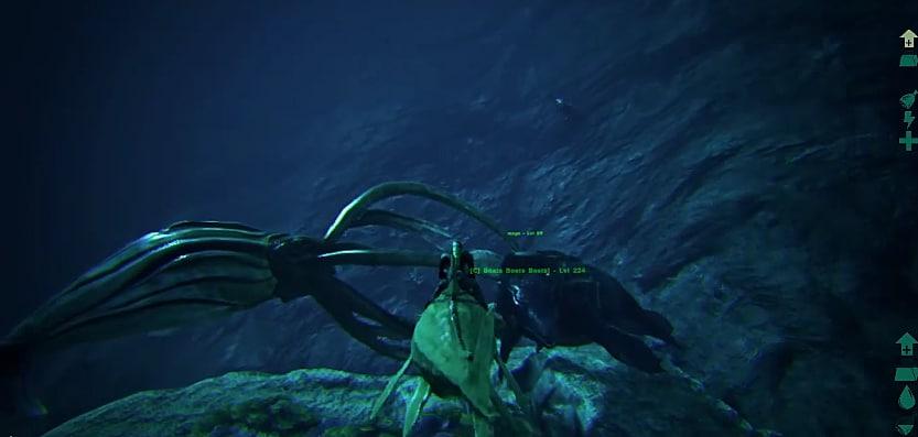 Release the Kraken: Taming Tusoteuthis in ARK | ARK: Survival Evolved
