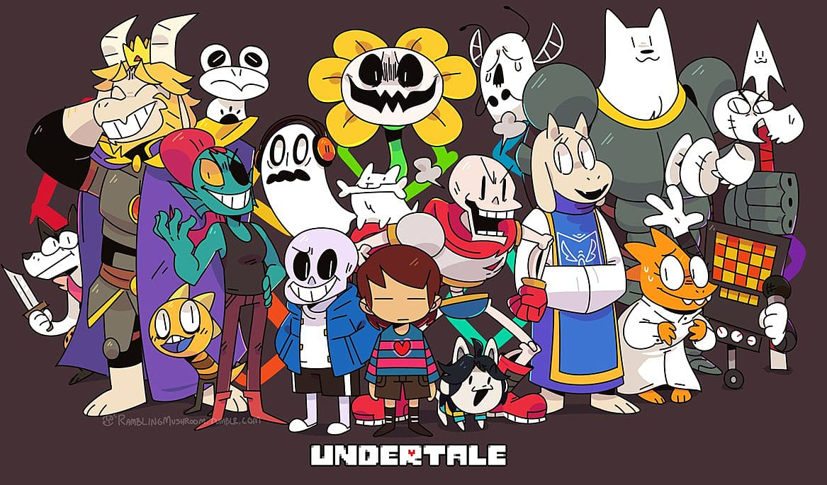 Undertale Role playing game for PC 2018