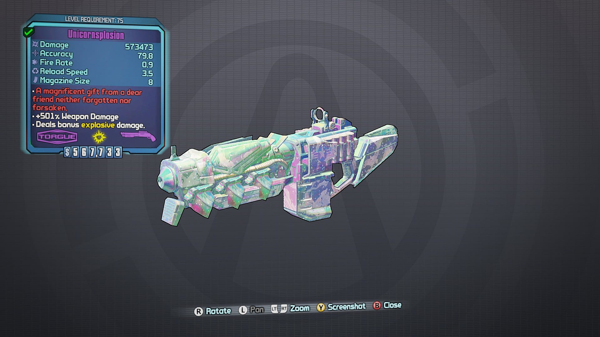 Perfect Weapons Borderlands 2
