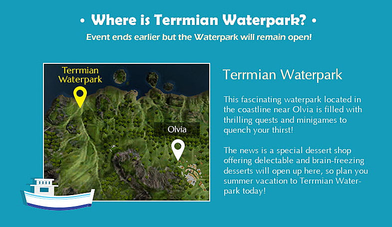 Black Desert Online: Terrmian Waterpark Event Guide | Black