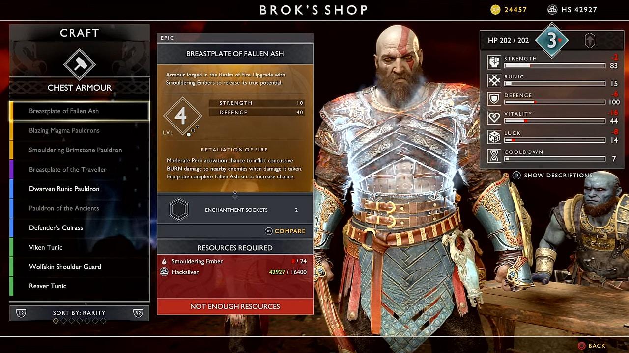 God of War (2018) Guide: How to Get Smoldering Ember | God