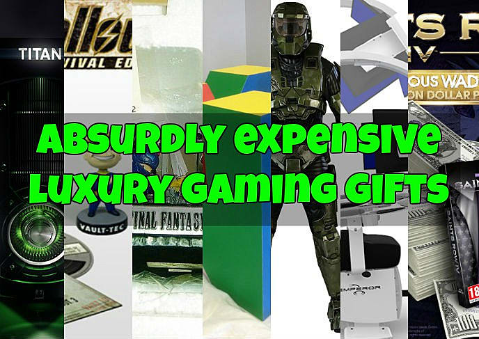 The Most Absurdly Expensive Luxury Gamer Gifts