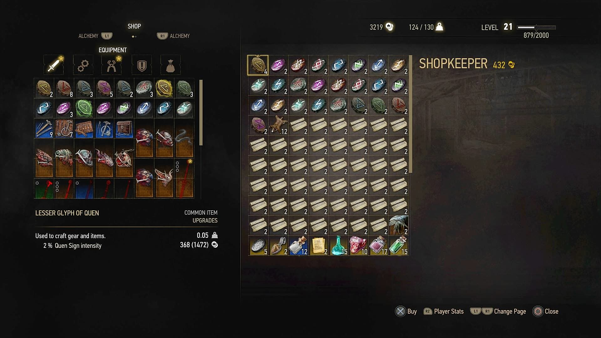 Witcher  Where To Craft Alchemy
