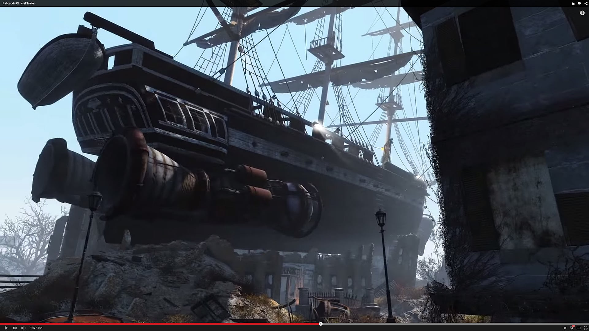 Comparison: Check out the Fallout 4 trailer without ...